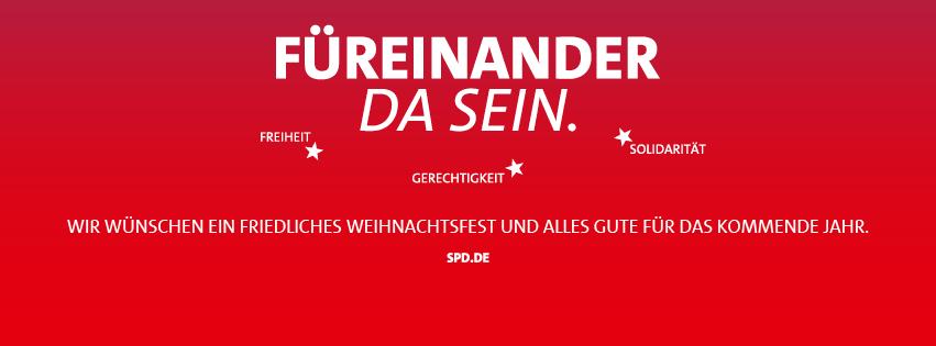 Wir wünschen Ihnen frohe Weihnachten und einen guten Rutsch - SPD ...